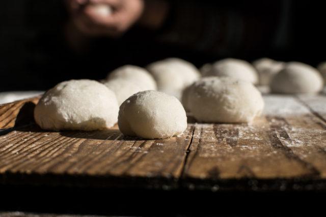 手作りの餅
